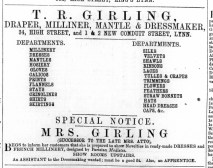1871 May 20th T R Girling @ 34