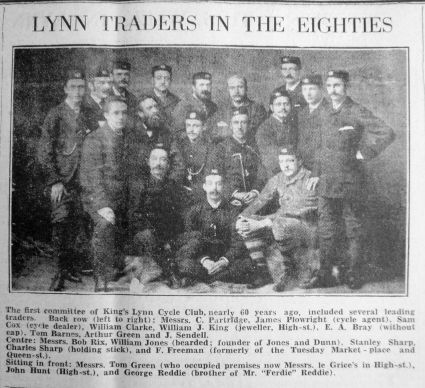 1881 (approx) from 1941 Feb 28th Lynn Traders inc John Hunt