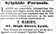 1845 April 5th T March
