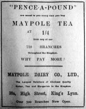 1912 Feb 10th Maypole @ 38a