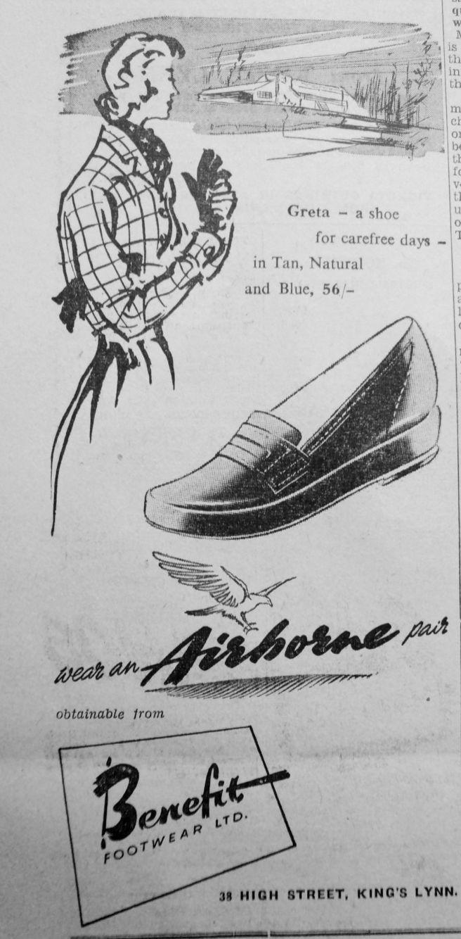 1950 Mar 3rd Benefit Footwear Ltd