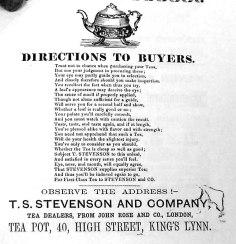 1860s TS Stevenson & Co (Lynn Forums)