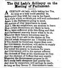 1871 Feb 18th Stevenson & Co soliloquy