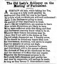 1871 Feb 18th Stevenson & Co soliloquy