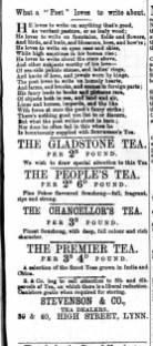 1873 March 1st Stevenson & Co @ 39 & 40