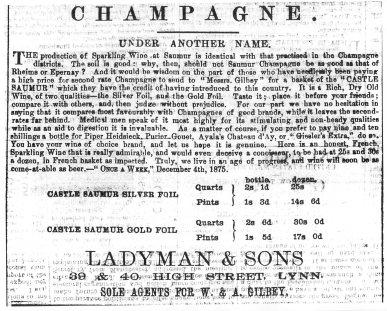 1875 Dec 11th Ladyman & Sons137