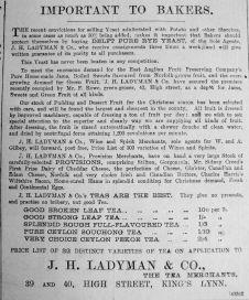 1890 Nov 22nd Ladymans