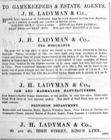 1892 June 11th Ladymans