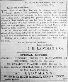 1901 Jan 18th Ladymans