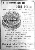 1913 May 16th Ladymans boot polish