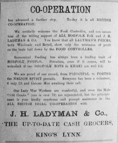 1917 Mar 16th Ladymans