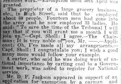 1917 Mar 19th Military Tribunal