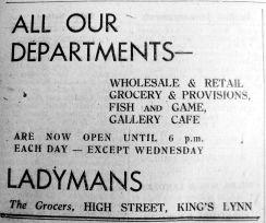 1945 Mar 9th Ladymans
