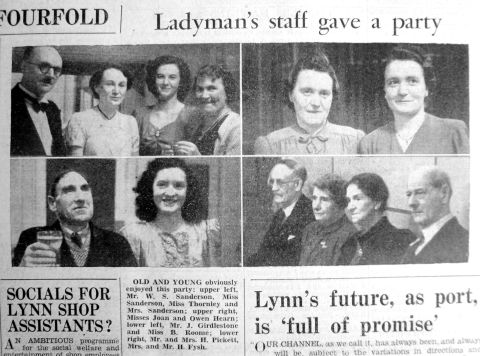 1947 Mar 18th Ladymans staff party