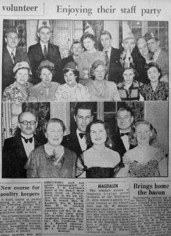 1952 Mar 14th Ladymans staff party 2
