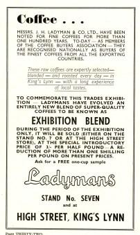 1955 Aug 24to31 Trades Exhib prog Ladymans