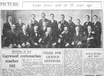 1955 Aug 26th Ladymans staff c1900