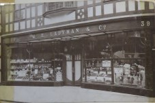 1959 shopfront Ladymans Archive (Ashley Bunkall) 0411