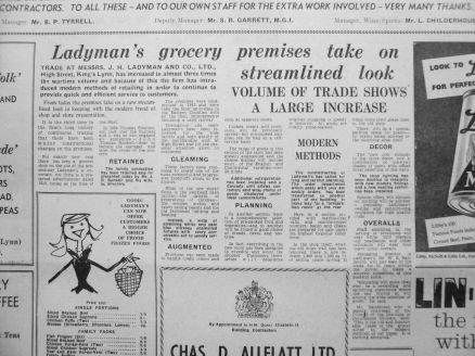 1960 Mar 8th Ladymans refit