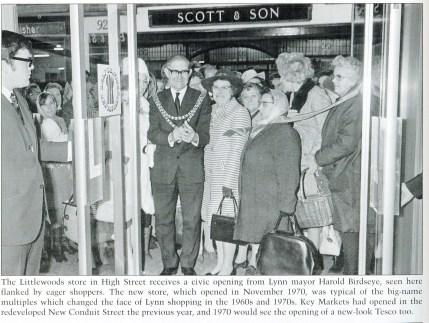 1970 November Littlewoods store opening