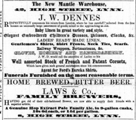 1856 Oct 11th J W Denness @ No 42
