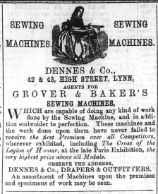 1867 Dec 21st Dennes & Co @ Nos 42 & 43