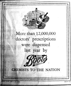1945 Mar 23rd Boots the Chemists
