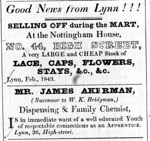 1843 Feb 14th Michael Smith @ 44