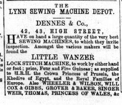 1873 July 5th Dennes @ Nos 42 & 43