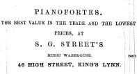 1896 4th Dec 46 S G Street