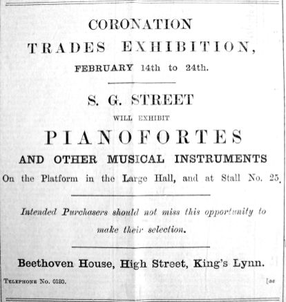 1902 Jan 31st Street trades exhib