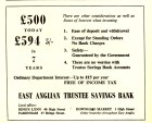 1961 KL Festival Prog Trustee Savings Bank @ No 46