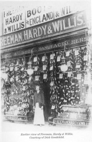 1900 (approx) Freeman Hardy & Willis @ No 47 (Vera Witt)