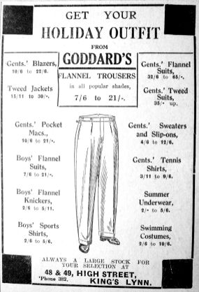 1932 July 15th George Goddard
