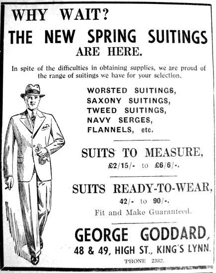 1940 Feb 23rd George Goddard
