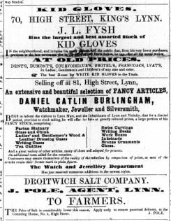 1857 Feb 21st J Pole @ No 5