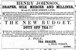 1863 April 25th John Pole @ No 5