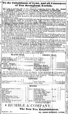 1844 Sept 7th Humble & Company