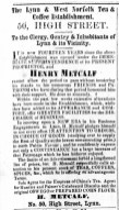 1859 July 9th Hanry Metcalf @ No 50