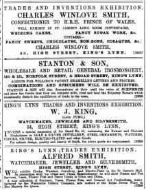 1888 October 27th Charles Winlove Smith @ No 50