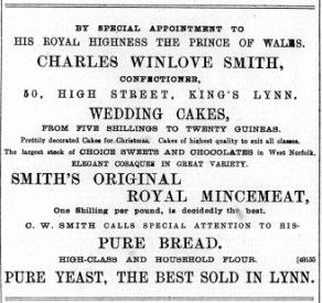 1891 December 19th Charles Winlove Smith @ No 50 (01)