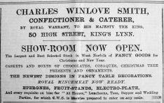 1903 Nov 20th Chas Winlove Smith
