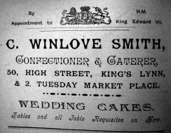 1905 Sconces Almanack Winlove Smith