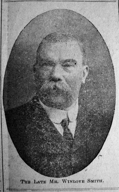 1912 Mar 27th Obit Chas Winlove Smith