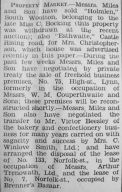 1934 May 18th Victor Beesley takes over