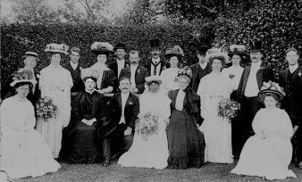 1908 Charles Rrivet wedding (Joe Mason)