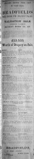 1919 Mar 7th Bradfields sale