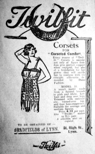 1925 Feb 27th Bradfields