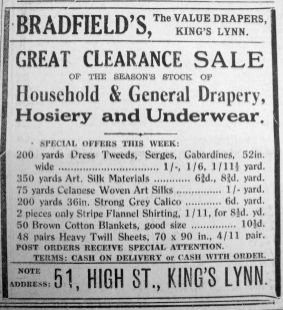 1934 Feb 2nd Bradfields