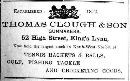 1923 Apr 6th Thomas Clough & Son